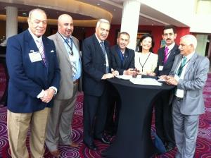 Anne Ramberg med representanter för Iraks advokatsamfund.